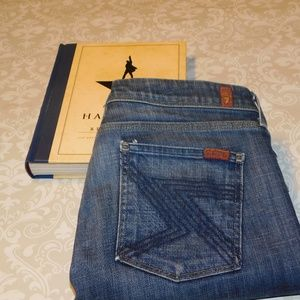 7 For All Mankind Slim Bootcut in Flynt